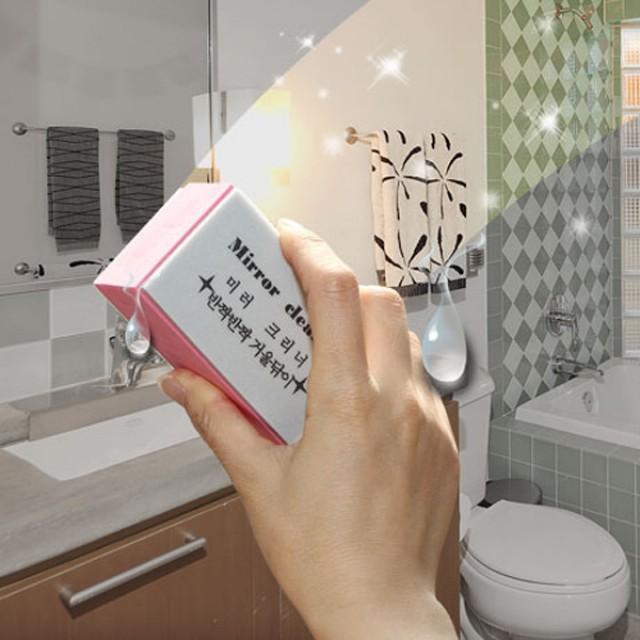 욕실거울유리닦기욕실거울유리닦기/유리닦이/베란다/청소도구/자동차/화장실/차량용품/미러크리너/물때제거