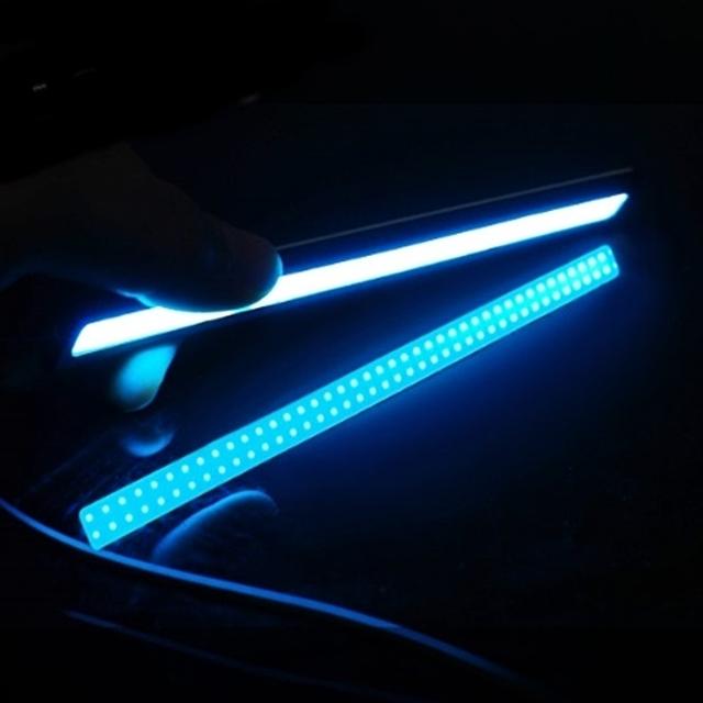 (Coms)자동차 포인트 LED램프 블루 라이트-17cm (WH0211)